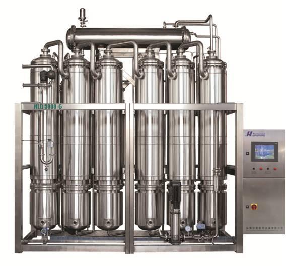 NLD系列内螺旋多效蒸馏水机
