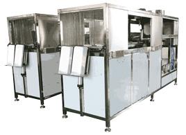 300桶/H微电脑自动洗罐机