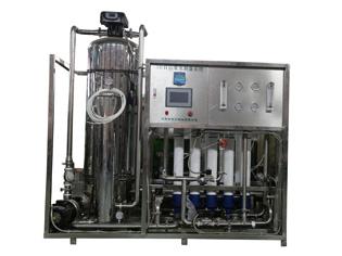 5T/H山泉水制备系统